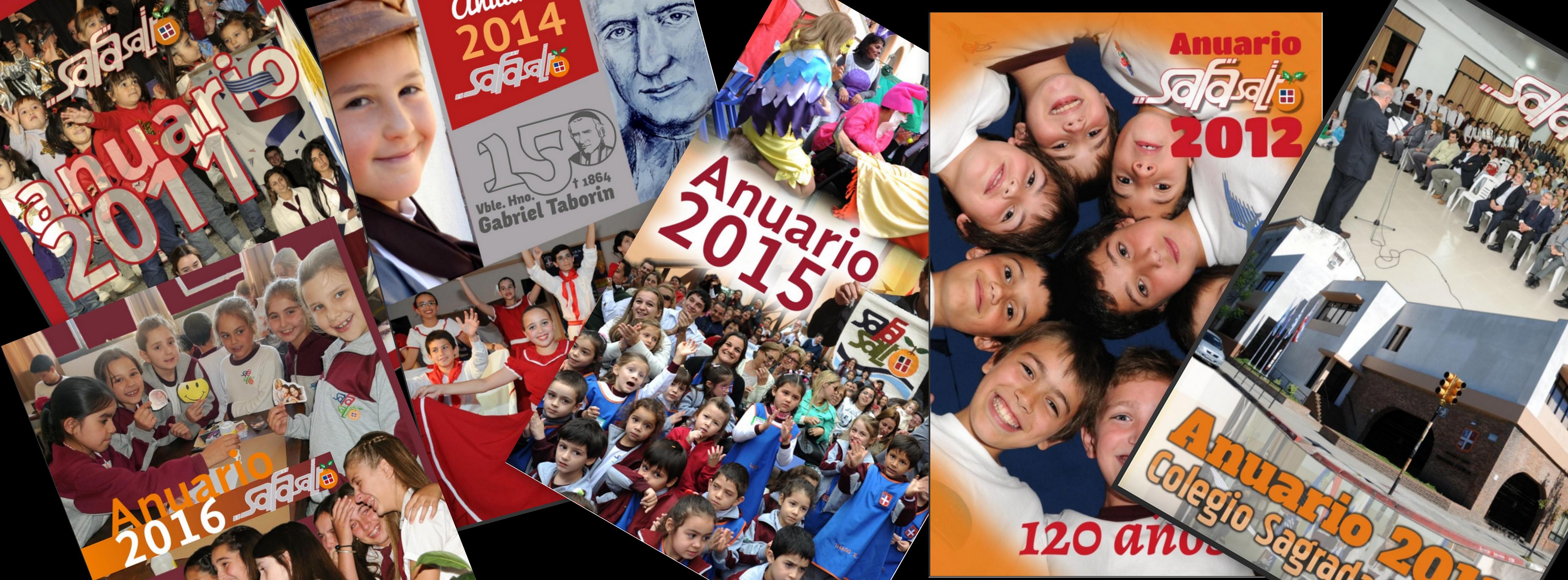 Todos los Anuarios 2011 a 2016